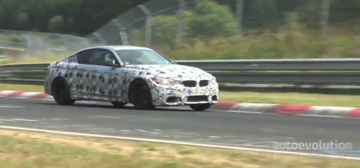 BMW F82 M4 Caught Testing with Carbon Ceramic Brakes [Video]
