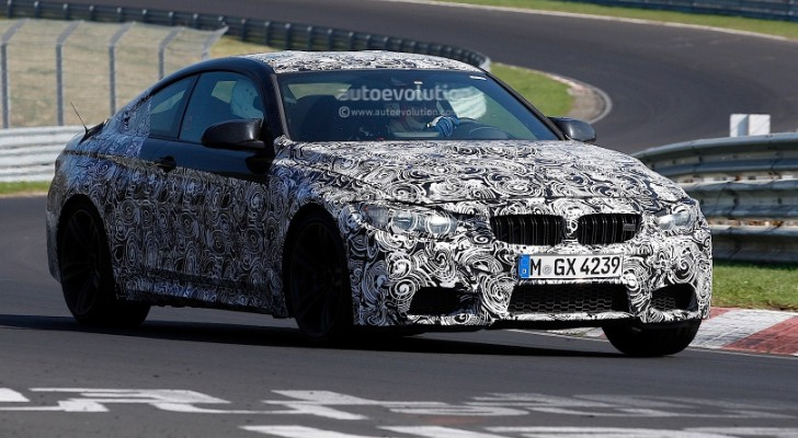 BMW F82 M4 Coupe Spyshots Reveal New Details