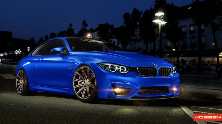 BMW F82 M4 on Vossen Wheels Is Already Online