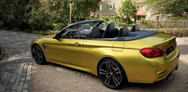 BMW F83 M4 Convertible Rendering