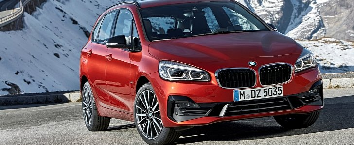 Bmw Facelifts 2 Series Active Tourer And Gran Tourer For