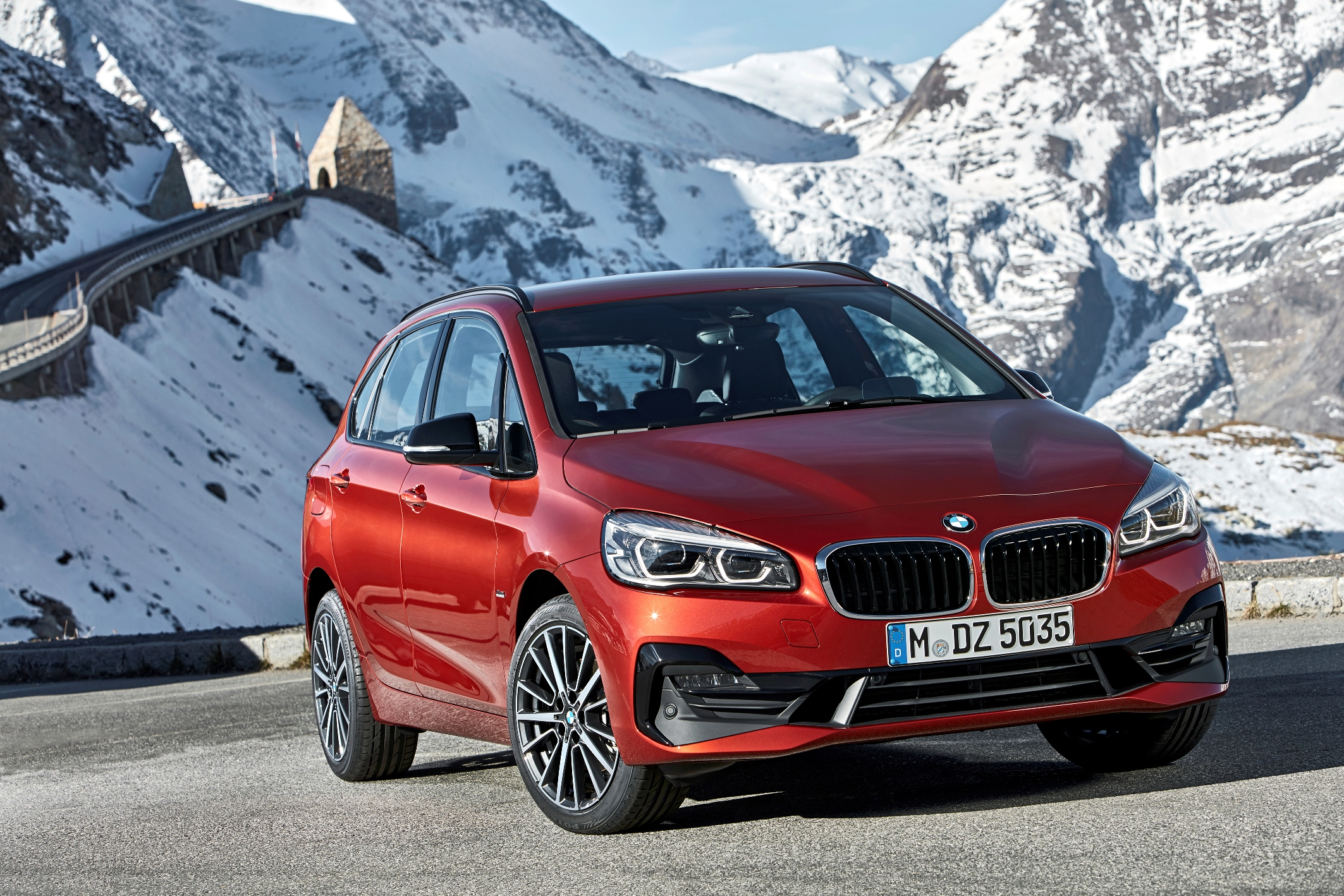 BMW 2 Series Active Tourer range revealed