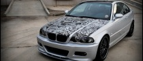 BMW Fan Created His Own BMW Art Car