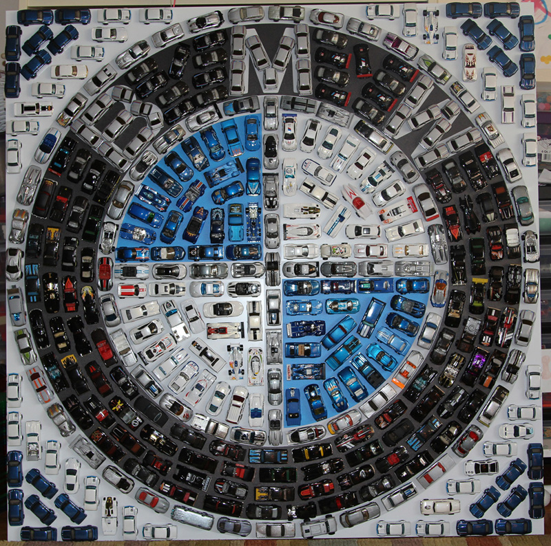 Bmw Fan Creates Logo Out Of Hot Wheels Cars Autoevolution