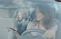 TEXT MESSAGING IS VERY DISTRACTING - BMW shouts