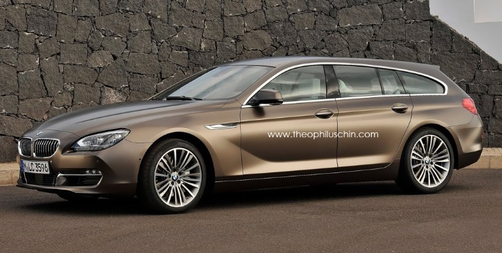 BMW Gran Touring Rendering
