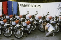 Press presentation of the R 80 G/S in 1980