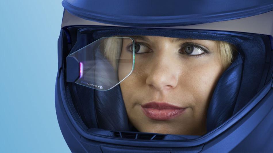 Motorcycle Helmet With Hud >> BMW HUD Helmet Uses Top-Notch DigiLens Technology - autoevolution
