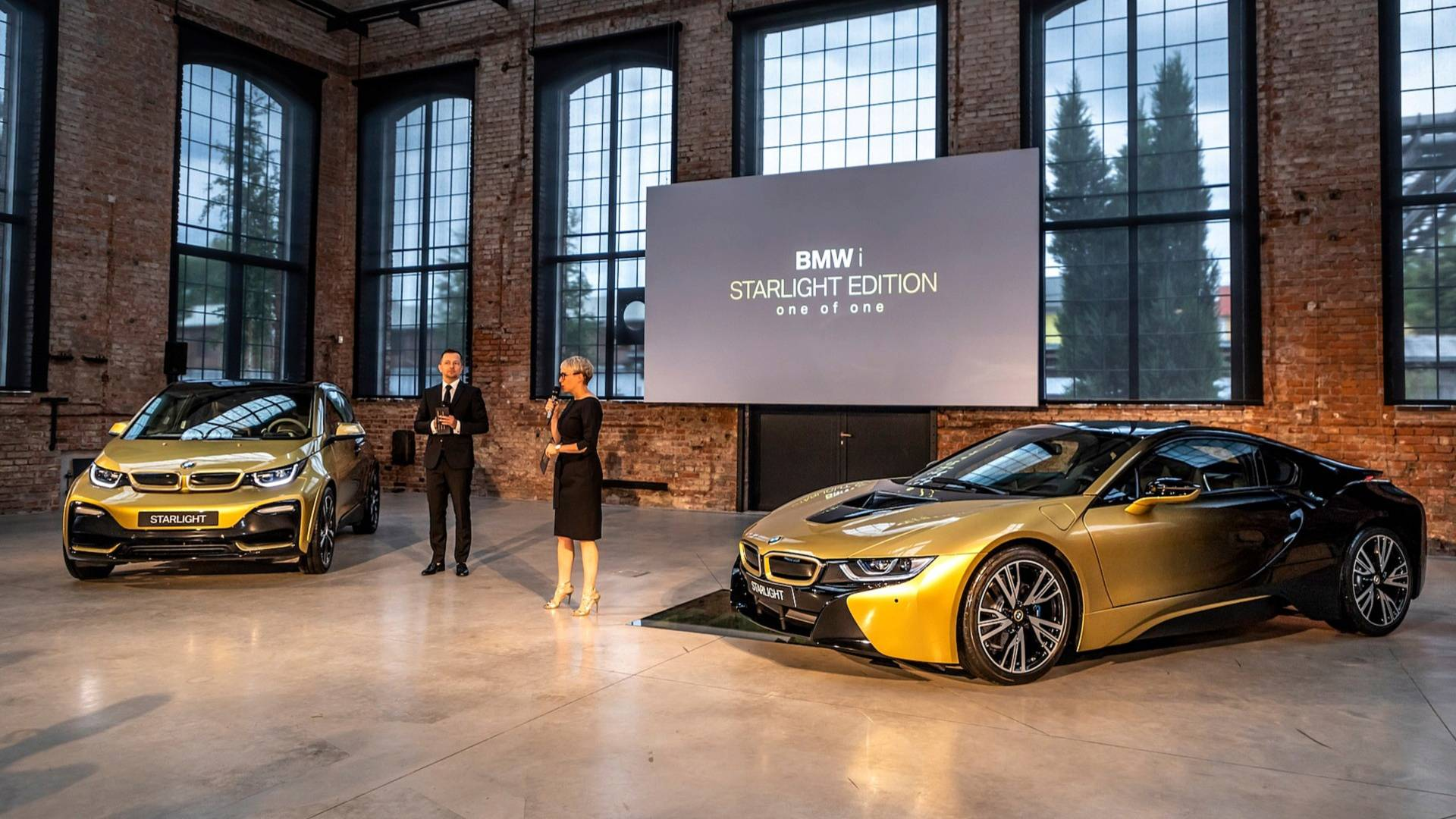 Bmw I3 I8 Starlight Edition Are As Flashy As They Come Autoevolution