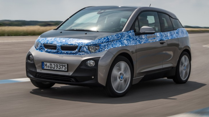 BMW i3 Test Drive by Autocar
