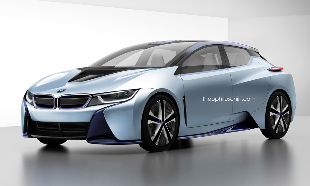Bmw I5 Rendered Using Nissan Ids Concept Cues Autoevolution