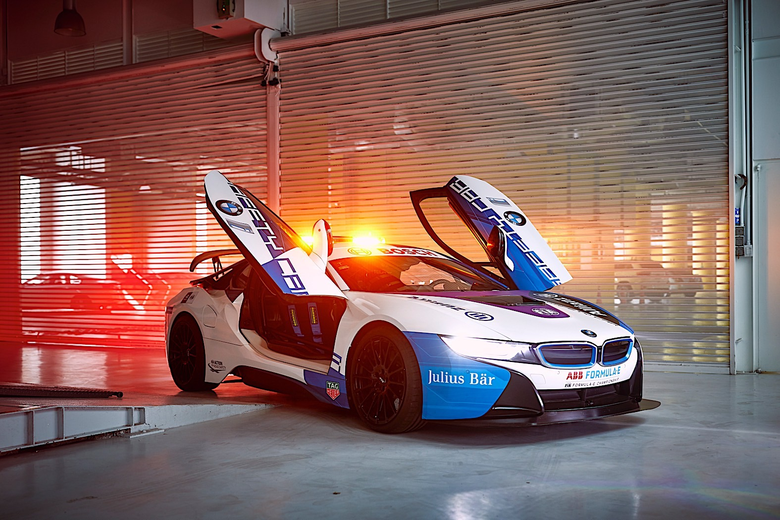 Bmw I8 Coupe Formula E Safety Car Gets New Livery For 2019 Season
