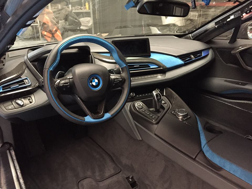 Bmw I8 Gets Alcantara And Carbon Fiber Treatment From German Special