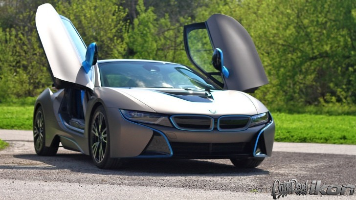 Bmw I8 Gets Wrapped In Matte Metallic Grigio By Giovanna Autoevolution