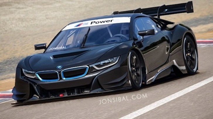 Bmw I8 Gt3 Imagined An Eco Friendly Approach To Old School Motorsport Autoevolution