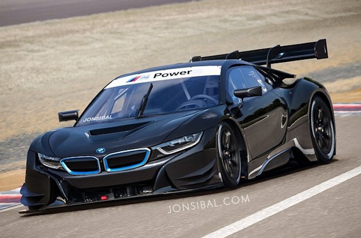 Bmw I8 Gt3 Imagined An Eco Friendly Approach To Old School