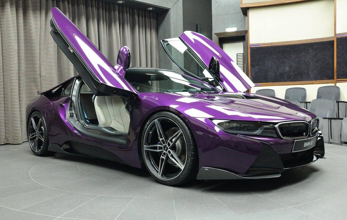 BMW I In Twilight Purple Gets AC Schnitzer Carbon Kit Autoevolution - Bmw ac schnitzer