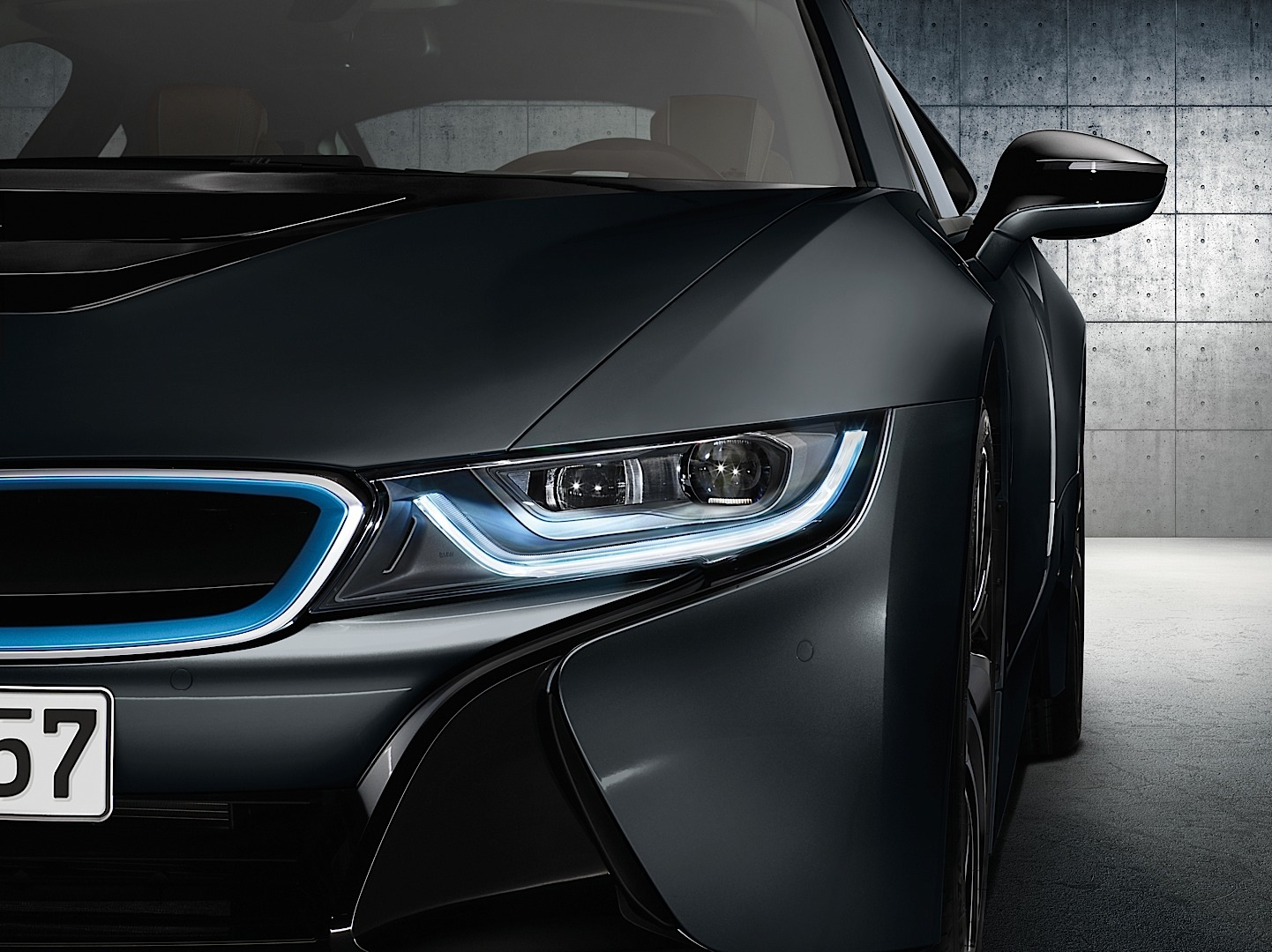 Bmw I8 Is The World S First Car To Have Laser Headlights Autoevolution