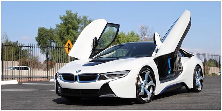 Bmw I8 On Forgiato Wheels Yay Or Nay Autoevolution