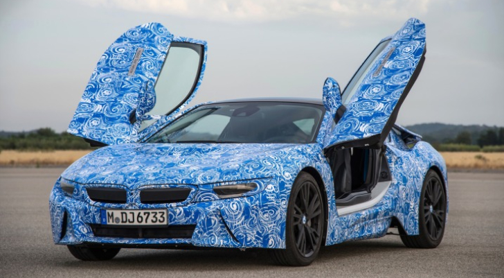 Bmw I8 Prototype Test Drive By Edmunds Autoevolution