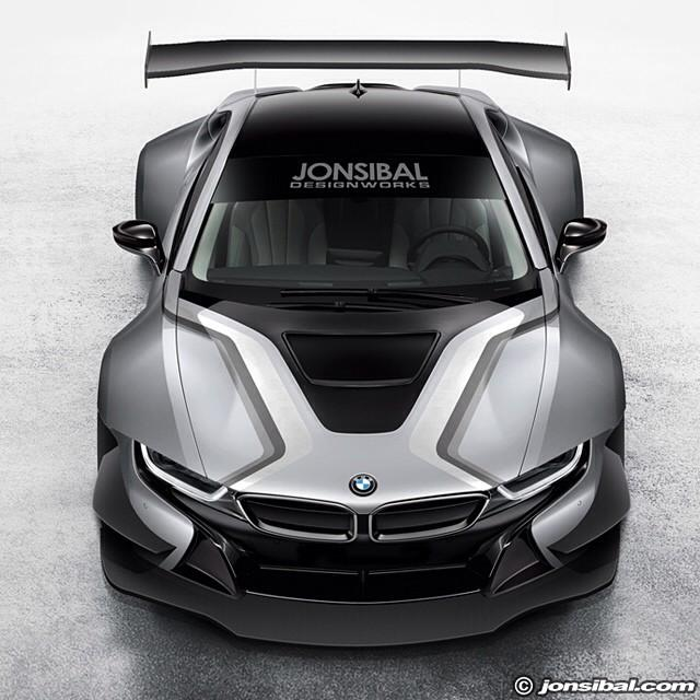 Bmw I8 Rendered As A Race Car Autoevolution