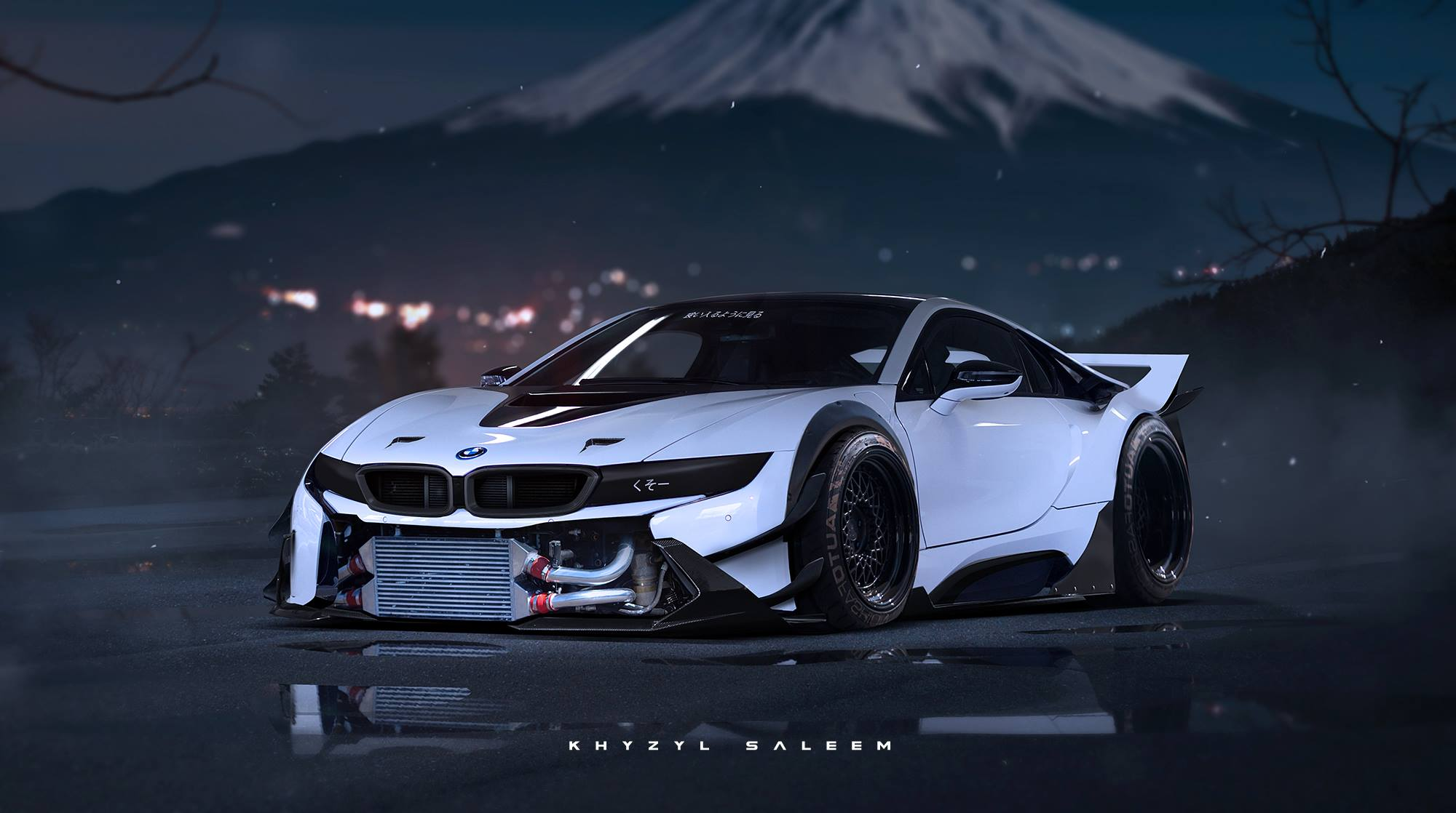 Bmw I8 Rendered As Proper Race Car Autoevolution