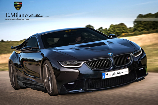 BMW I8 Rendering By E Milano