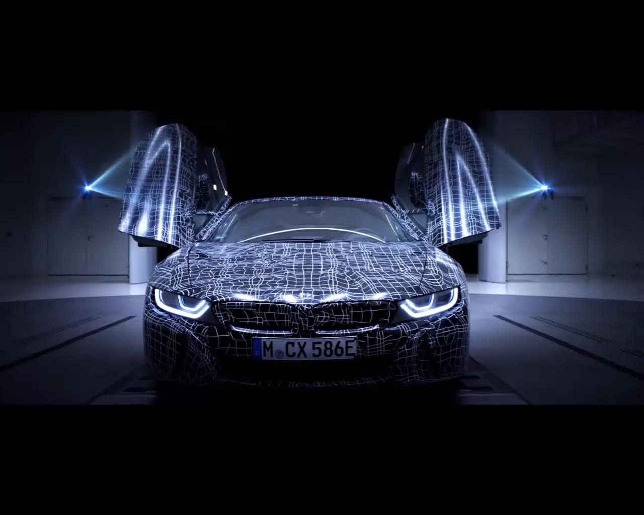 Bmw I8 Roadster Confirmed Through Teaser Deliveries Start In 2018