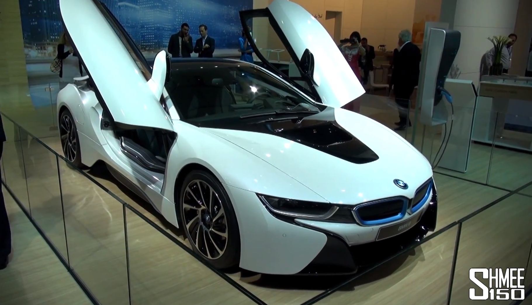 Bmw I8 Shows Up At The 2013 Dubai Motor Show Autoevolution