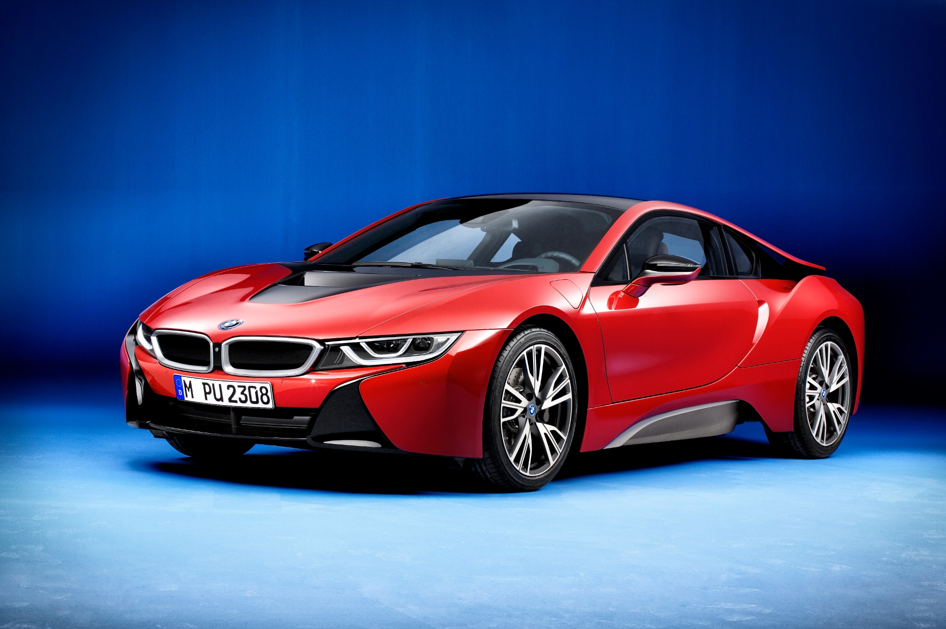 Bmw I8 Protonic Red Special Edition Unveiled Looks Just Right