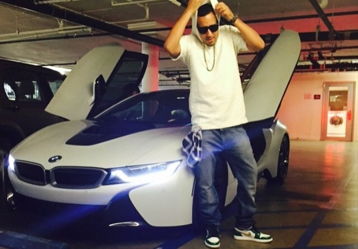 Bmw I8 Takes The Quot Rapper Step Quot As French Montana Buys His