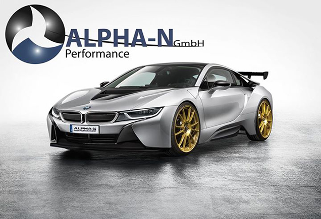 bmw i8 tuned by alpha n performance is brutal autoevolution. Black Bedroom Furniture Sets. Home Design Ideas