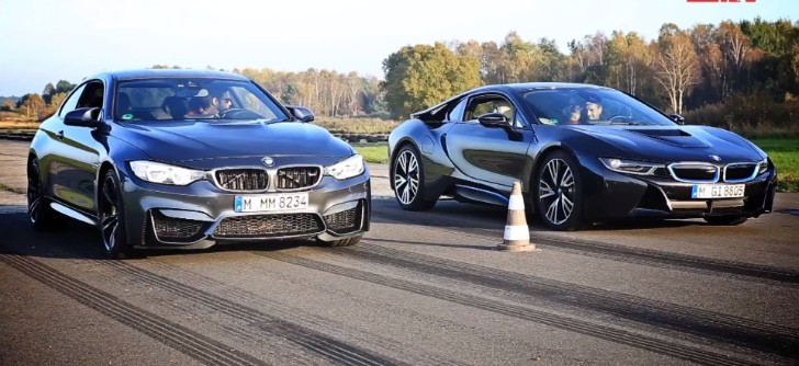 Bmw I8 Versus Manual M4 Is The Year S Hottest Drag Race