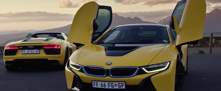 Bmw I8 Vs Audi R8 Spyder Two Different Supercars That Get Under Your Skin Autoevolution