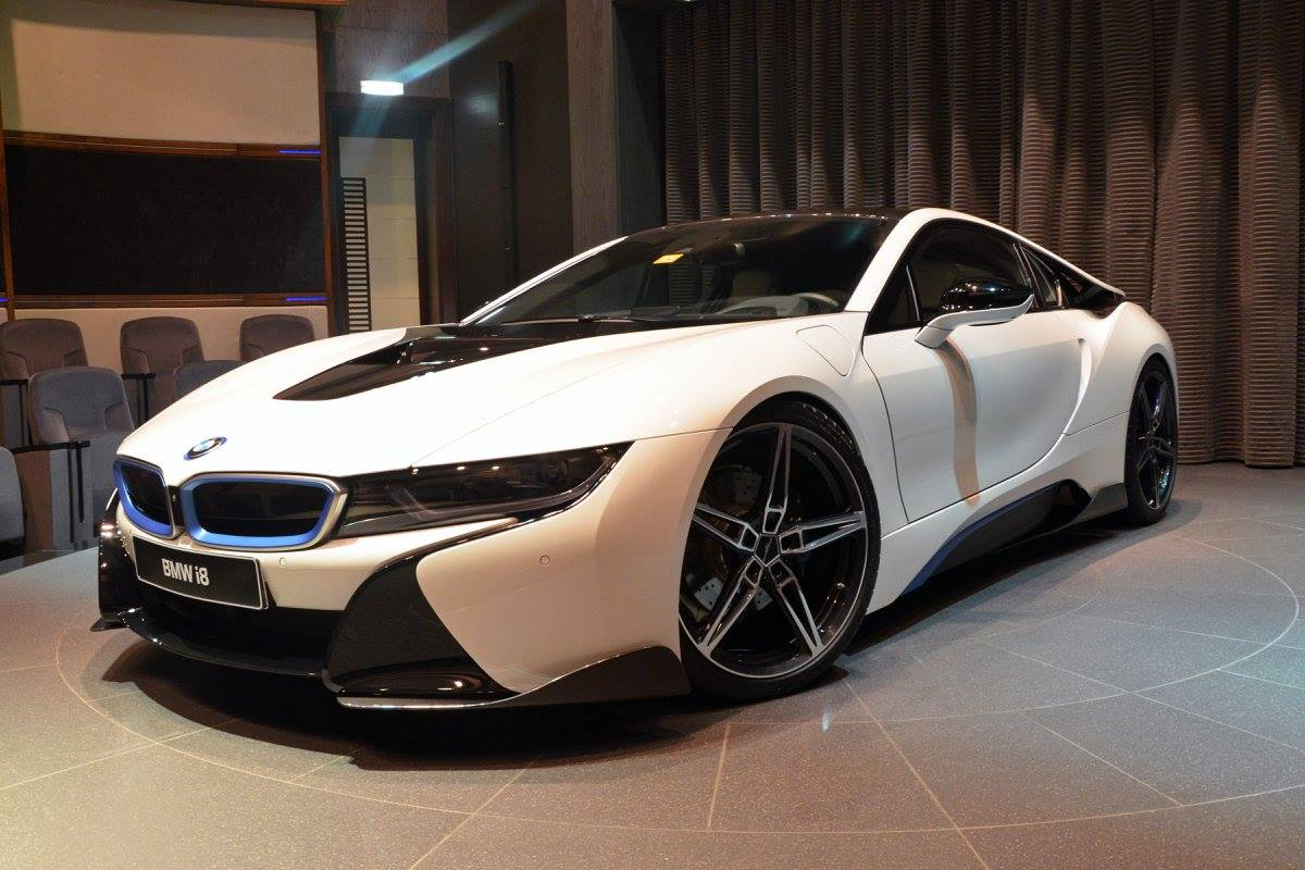 Bmw I8 With Ac Schnitzer Package Showcased By Bmw Abu Dhabi