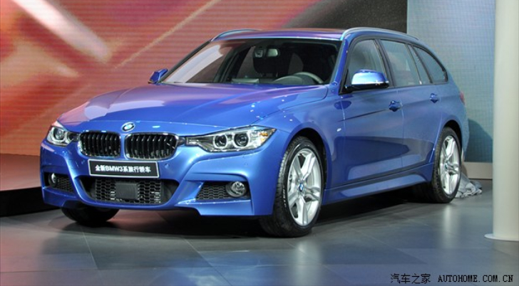 BMW Introduces BMW F31 3 Series Touring in China