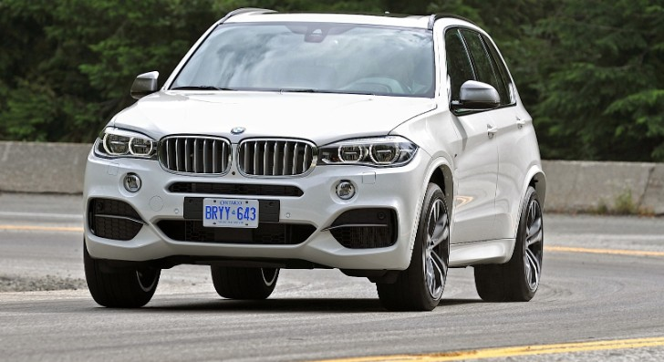 BMW Introduces the 2014 X5 M50d [Photo Gallery]
