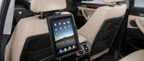 BMW iPad Holders and WiFi Hotspot