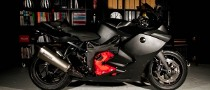 BMW K 1300 S Goes to the Dark Side