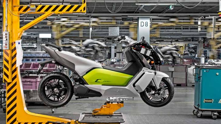 BMW Kicks Off Production for C evolution Electric Scooter [Photo Gallery]