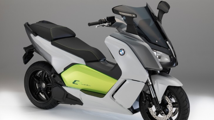 BMW Launches C Evolution E-Scooter at 2013 Frankfurt [Photo Gallery]