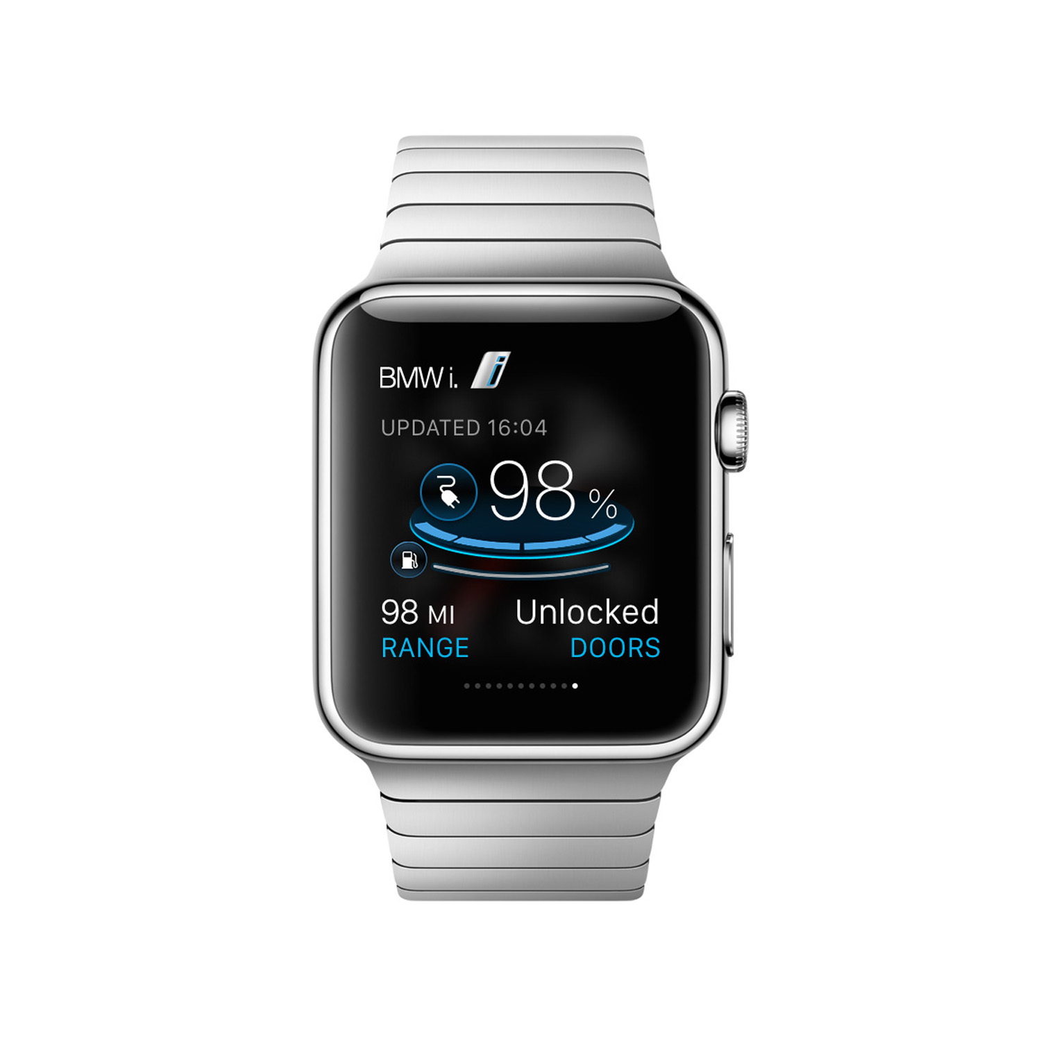 BMW Launches i Remote App for Apple Watch - autoevolution