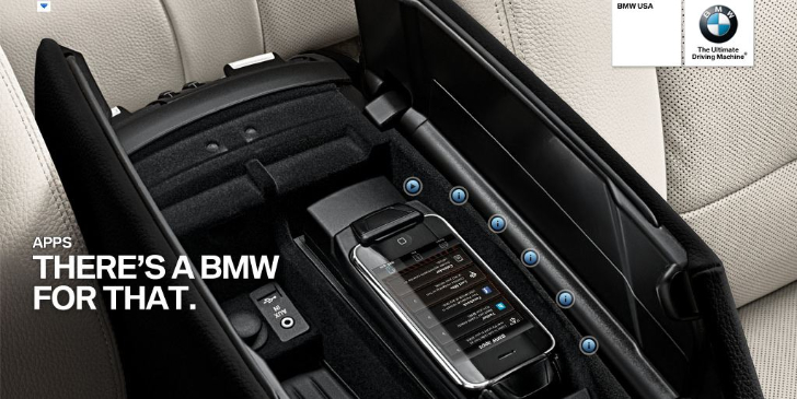 BMW Launches Samsung and iPhone 5S Snap-In Adapters