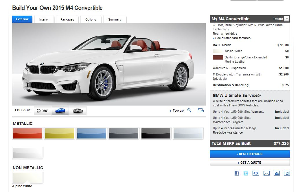 Bmw Launches Two New Configurators On Us Website