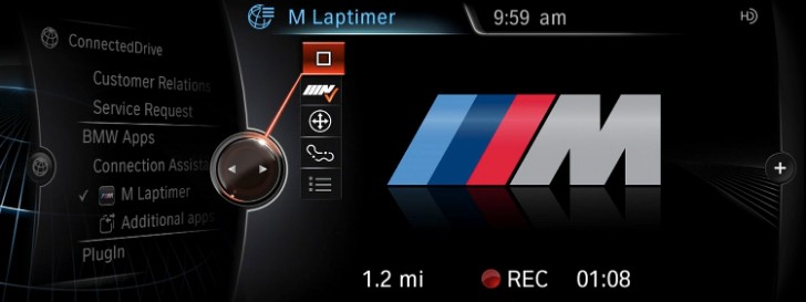 BMW M Laptimer for Apple iPhones to Be Launched at 2013 LA Auto Show [Photo Gallery]