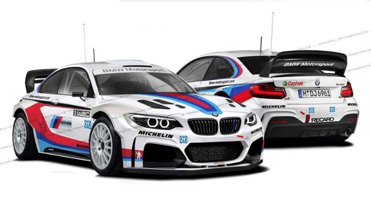 Bmw M Wrc Rendered An Impossible Dream Autoevolution
