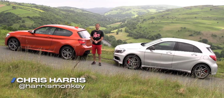 BMW M135i vs Mercedes-Benz A45 AMG by Chris Harris [Video]