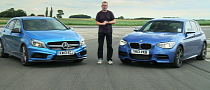 BMW M135i vs Mercedes-Benz A45 AMG Comparison Test [Video]