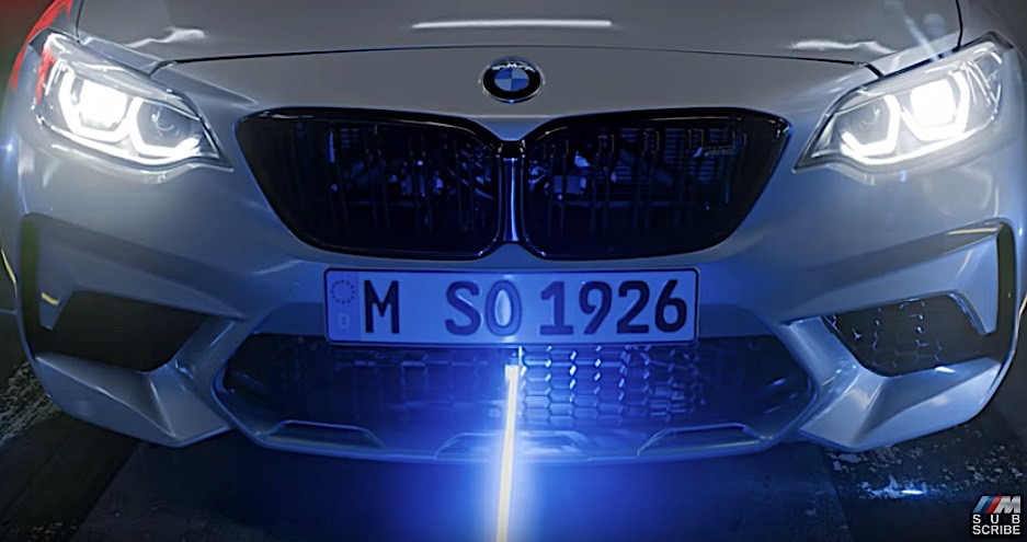 Bmw M2 Competition Shooting Lasers Is The Coolest Thing You