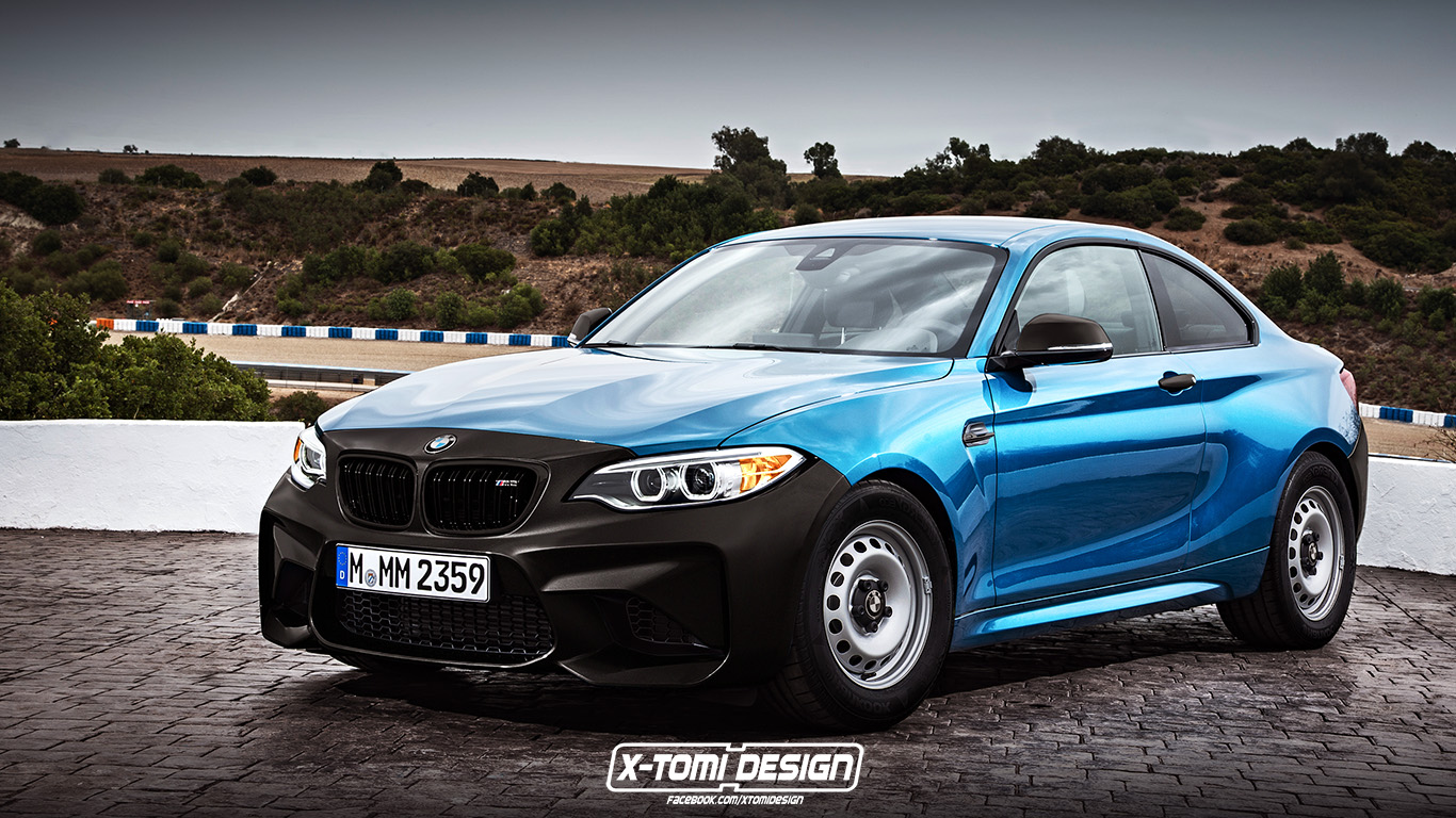 Bmw M2 Coupe Rendered In Base Spec Doesn T Make Sense